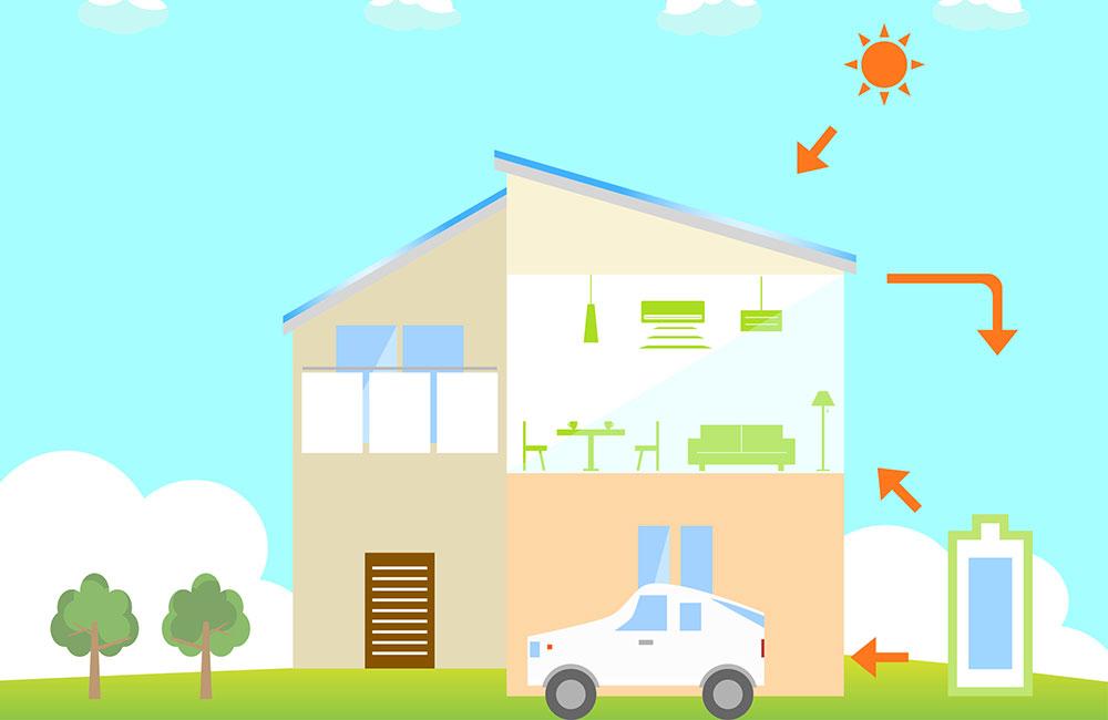 ZEH化住宅とは何かを簡単に説明する
