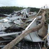自然災害(台風や竜巻)でパネル等の破損の可能性はないの?