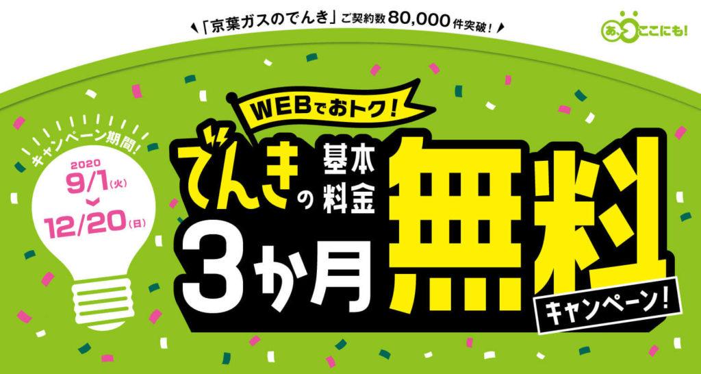 京葉ガスキャンペーン